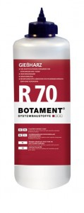 Żywica do spajania rys BOTAMENT® R 70 (R70 600ml).